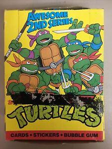 Teenage Mutant Ninja Turtles Awesome 2nd Series Box 48 ct.