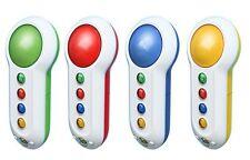 4 Original Microsoft Wireless Buzzer für Xbox 360 Spiele inkl. Sensor