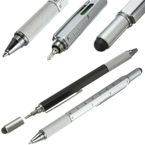 New 6in1 Touch Screen Stylus Ballpoint Pen With Ruler Screwdriver Tool Hot Sale