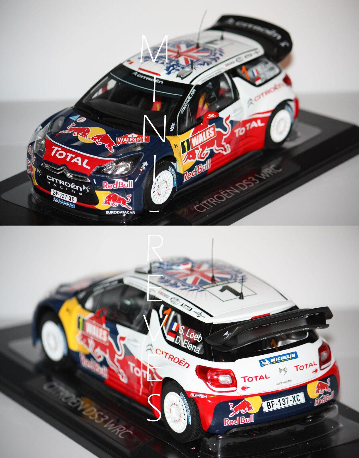 Norev Citroën Ds3 WRC 2011 World Champ. S.Loeb 1 18 181557 16