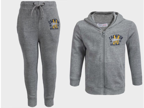 Boys Baby Toddlers Minoti Hoodies /& Jogging Pants Cotton Set Hooded Tracksuit