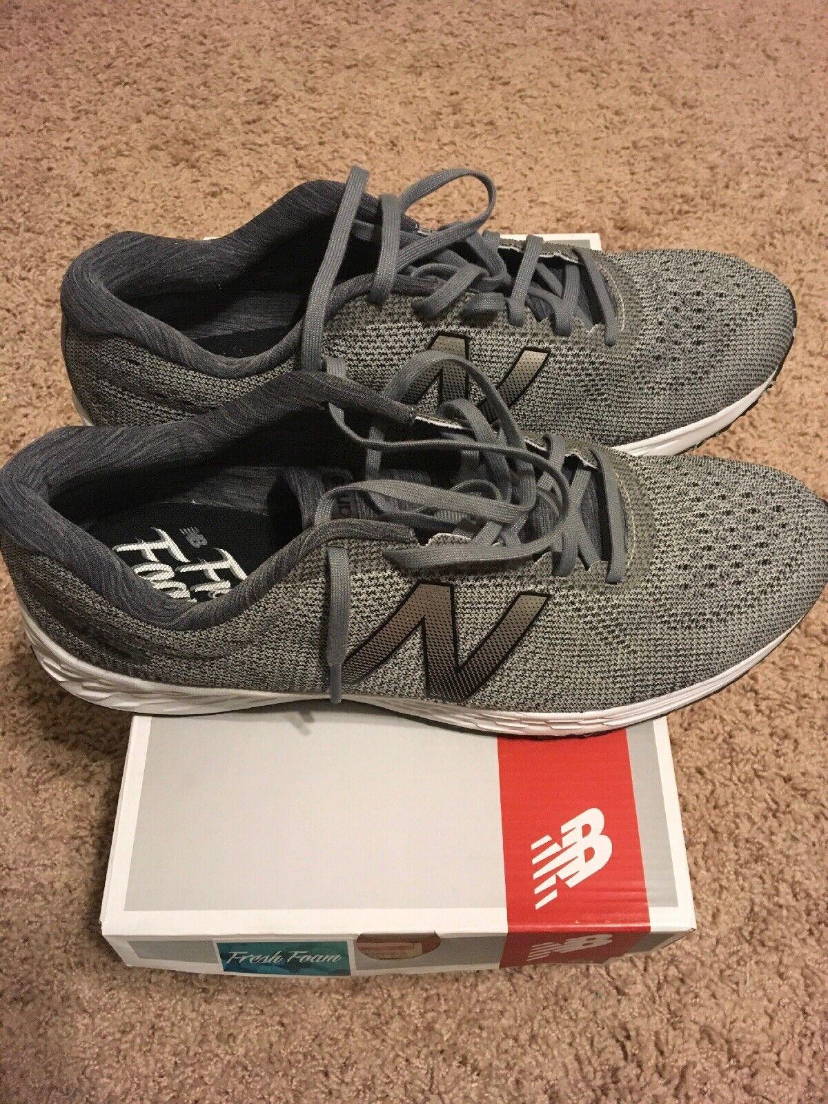New Balance MARISRS1 Grey Mens Size 11 D Running shoes Sneakers Fresh Foam NIB