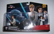 DISNEY INFINITY 3.0 Star Wars Rise Against Empire Playset Luke Leia Death Star