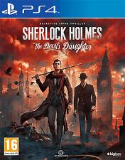 Sherlock Holmes The Devil's Daughter PS4 Playstation 4 BIGBEN INTERACTIVE