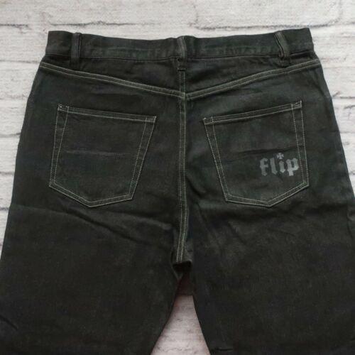 Vintage Flip Skateboards Denim Jeans Size 34 Skate