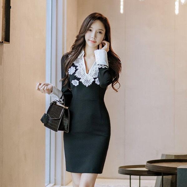 Elegante vestito abito tubino bianco black maniche 4117 corto lunghe ... 601524662f0