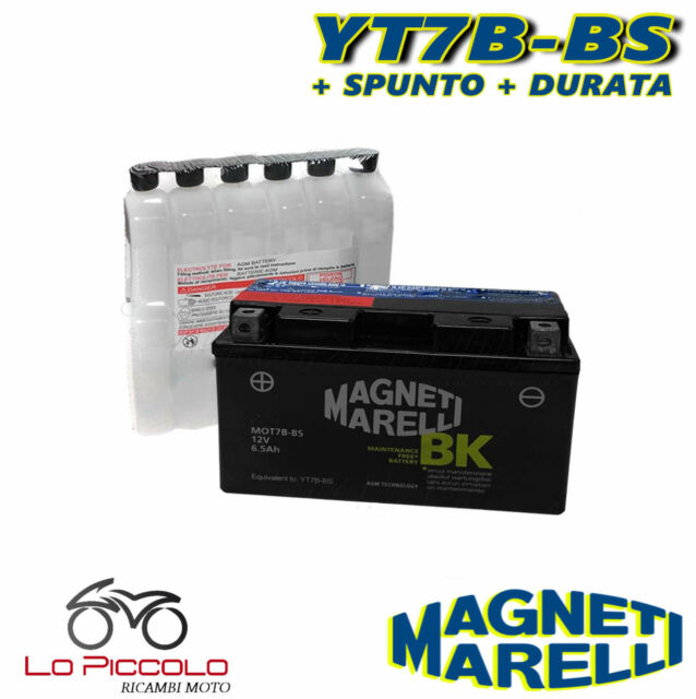 Battery Magneti Marelli YT7B-BS Sealed Ducati Panigale/S/ABS 1199 2012