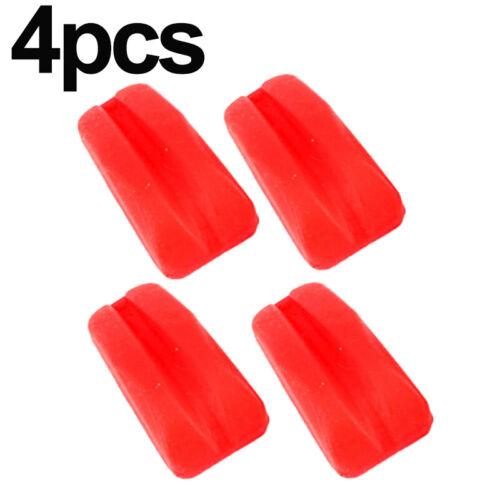 4x Vibration Dämpfer 5.5*4.5*1.6cm Gummi Stabilisator Außen Bogenschießen
