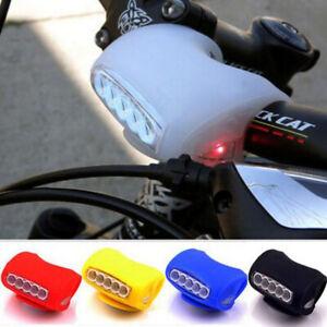 CICLISMO-bicicletta-bici-fanale-POSTERIORE-Testa-Lampada-7-LED-Lampada-Anteriore-Posteriore-Di