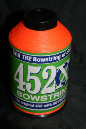 Sunset Orange BCY 452X Bowstring Material 1//4lb Bow String Making