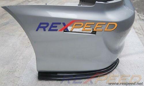 USDM Carbon Fiber Rear Side Bumper Extension for Mitsubishi EVO 8//9