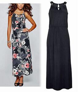 Das Bild wird geladen Elegantes-Abendkleid-Maxikleid-schwarz-Gr-44-46-Neu- 897113a16e