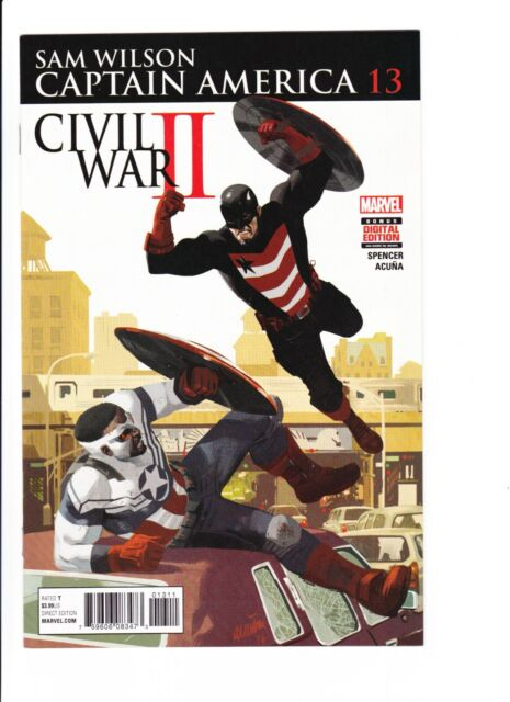 Falcon VS US Agent! | Sam Wilson Captain America 13 | NM | Falcon Winter Soldier