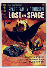 Space Family Robinson #17 VG/F 1966 Gold Key Silver Age Comic Book Lost in Space