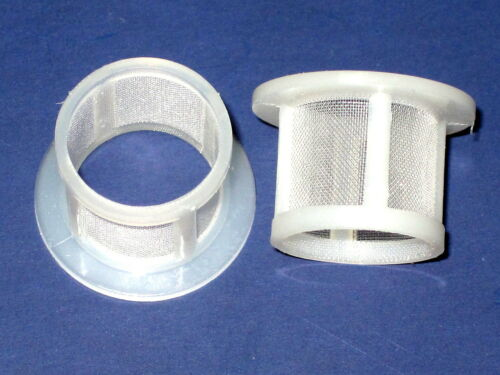 2 Banjo screen fuel Filters for Amal carb Triumph Norton BSA concentric 376//093