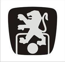Peugeot 406 back door sticker for repair damaged emblem