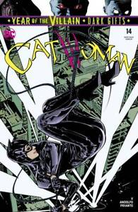 CATWOMAN 14 Stanley Lau Card Stock Variant YOTV Dark Gifts DC 2019 NM+