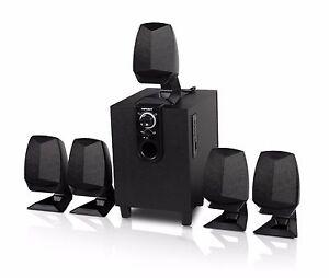 Hipoint-Audio-5-1-Surround-Sound-Lautsprechersystem-mit-Bluetooth-amp-USB