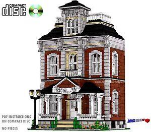 cd hilltop manor victorian house lego custom pdf book instructions rh ebay com Victorian Era Victorian Suitcase