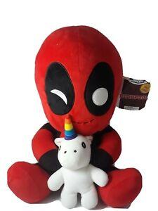 Kidrobot Deadpool with Unicorn HugMe Plush