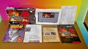 Igition-Factor-SNES-Super-Nintendo-AUTHENTIC-Tested-Firefigher-Game-Complete