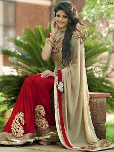 BOLLYWOOD INDIAN SAREE PAKISTANI PARTY WEAR WEDDING & BRIDAL ETHNIC SARI