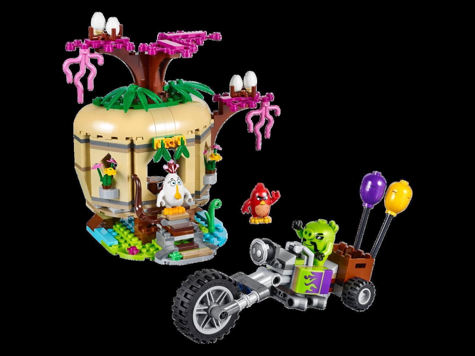 LEGO® The Angry Birds™ Birds™ Birds™ Movie 75823 Bird Island Egg Heist NEU OVP NEW MISB NRFB 8335bb