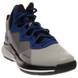 C75556 Men 's Adidas Original Intimidate Basketball Mid Cut Clear Onix/Royal-Blac