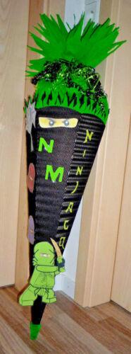 Bastelset für Schultüte Ninjago NUR MOTIVE !! Motive für Schultüte Ninja go