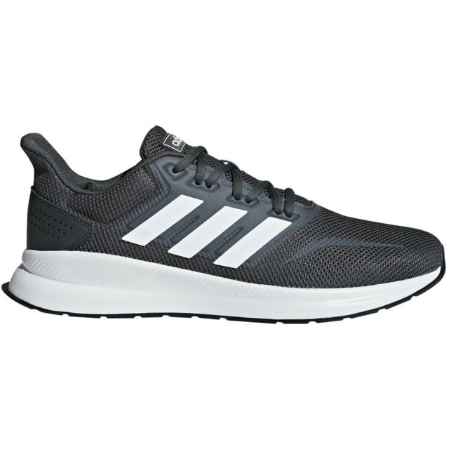 adidas Mens 10.5 Runfalcon Dark Grey F36200 Workout Running SNEAKERS Trainers