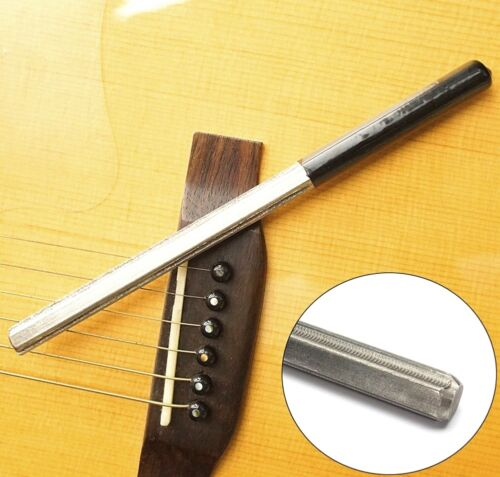 Guitar Fret Crowning Dressing File with 3 Size Edges Professional Luthier ZP