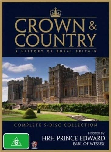 1 of 1 - Crown & Country - A History Of Royal Britain (DVD, 2009, 5-Disc Set) NEW