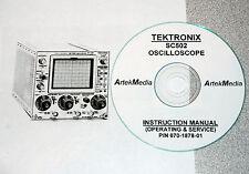 Tek Sc502 Oscilloscope Instruction Manual Opsampservice