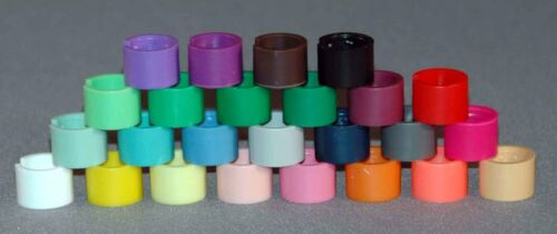 Colored Snap on Hanger Sizers Packed 100 Pieces Per Color