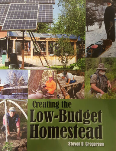 Survival Retreat Self Sufficient Living Book Creating the Low-Budget Homestead