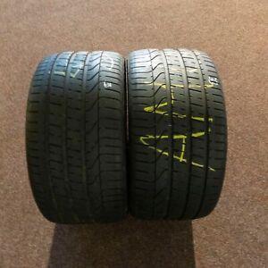 2x-Pirelli-P-Zero-MO-285-30-r19-98y-Dot-2816-Pneus-D-039-ete-7-mm