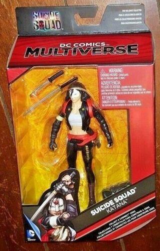 """DC Comics Multi-Univers Suicide Squad/'S KATANA 6/"""" Action Figure!"""