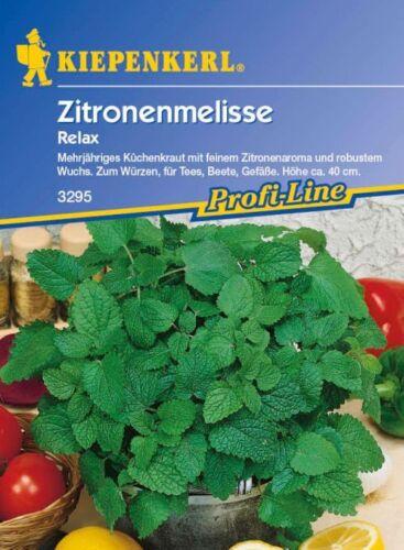 KIEPENKERL-zitonenmelisse relax 3295 pluriannuelle MELISSE avec citrons arôme