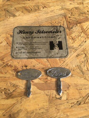 2x Ford Traktor Zündschlüssel Schlüssel 2000 3000 3055 4000 5000 3600 6610 6600