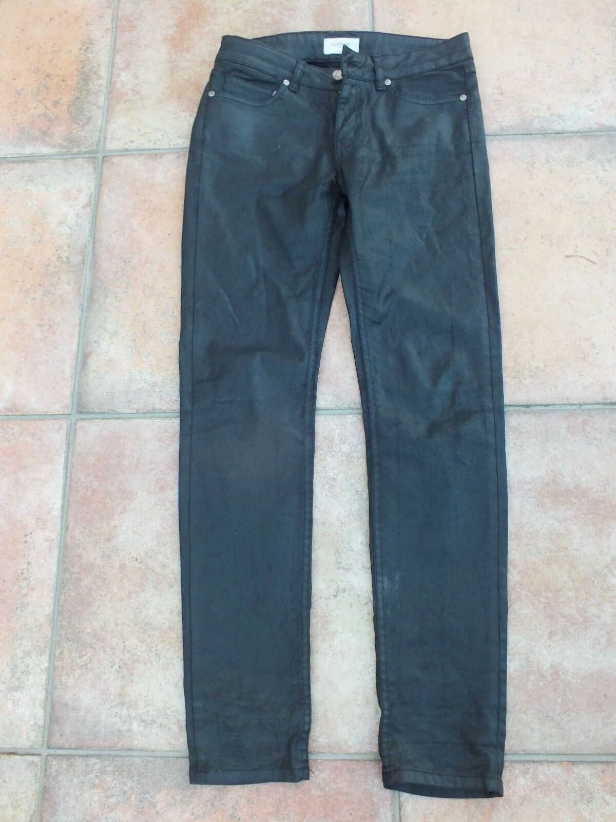 Pantaloni jeans di ELEVENPARIS coatet Cerati, W. Pelle, Tg. 28 NUOVO