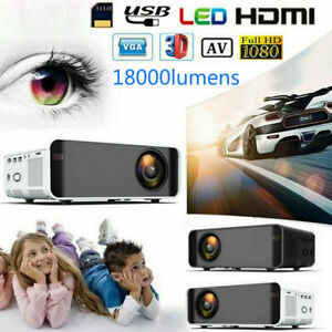 1080P-HD-3D-LCD-LED-VIDEO-PROJECTOR-AV-VGA-USB-HDMI-Input-Home-Theater-Cinema