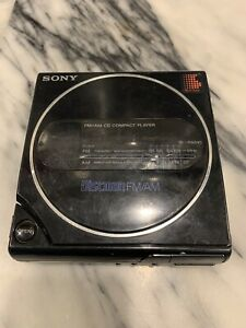 Sony D-T3 Discman Portable CD Player - For Repair or Parts UNTESTED