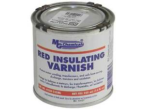MG Chemicals 4228-225ML Red GLPT Insulating Varnish 225ML Bottle