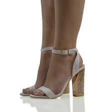 87182d0dbdc item 4 Womens Ankle Strap Sandals Block Heel Ladies Open Toe Buckl Strappy  Party Shoes -Womens Ankle Strap Sandals Block Heel Ladies Open Toe Buckl  Strappy ...