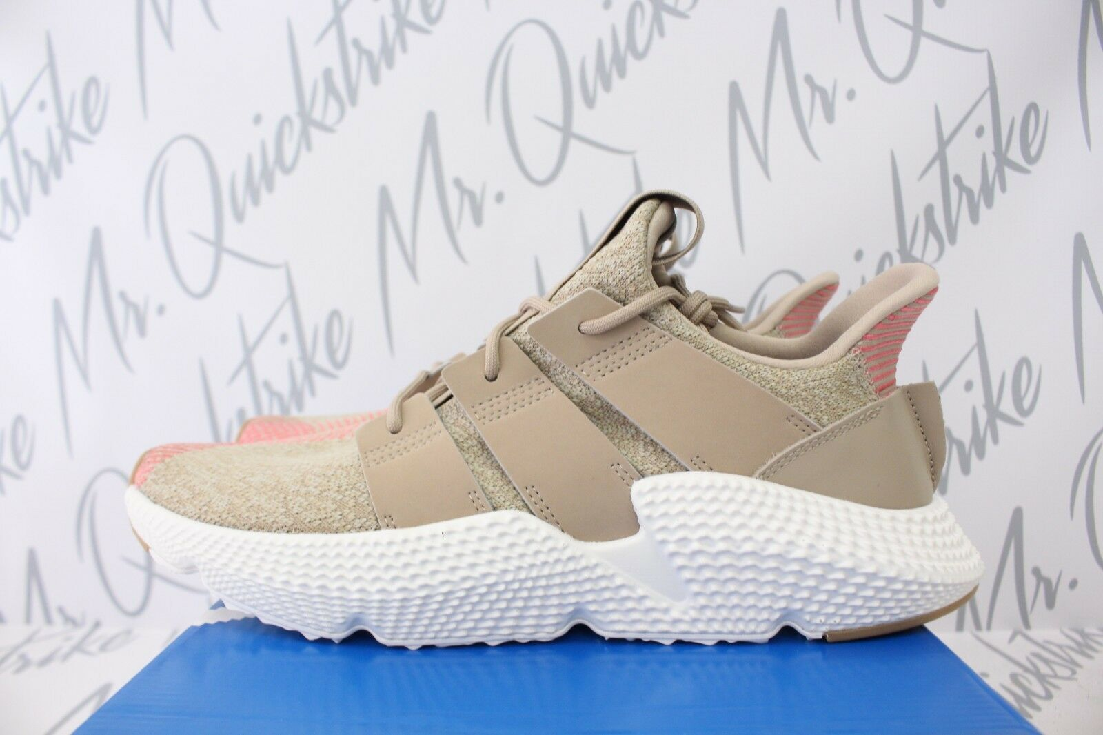 Adidas Originals Chalk prophere SZ 9 Trace Khaki Chalk Originals Rosa Blanco cq2128 589fb6