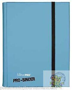 Ultra-Pro-PRO-binder-Light-Blue-card-holder-for-Mtg-WoW-Pokemon-Yugioh-cards
