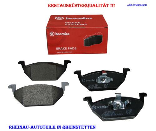 Bremsbeläge Brembo SATZ-VA HONDA Accord VII Tourer CM 2.0 CM1,2.4CM2,2.2 i-CTDi