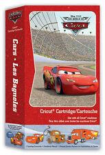 NEW Disney Pixar World of Cars Cricut Cartridge RETIRE  29-0697
