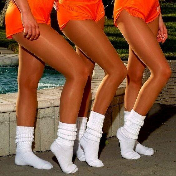 Peavey Pantyhose Pick 5 Size 7 Color Sheer Hooters Uniform Lingerie Nylons