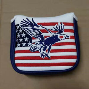 1pc-Square-Mallet-Putter-Cover-Eagle-Putter-Headcover-For-TaylorMade-Spider-Tour